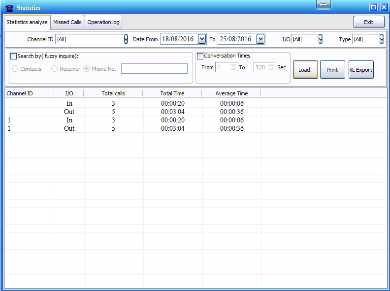 com1-voice-logger-installation-software-main-menu-statistics
